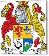 Macdonnell Coat Of Arms Of The Glens Canvas Print