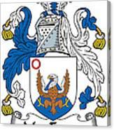 Macenery Coat Of Arms Irish Canvas Print