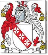Macenright Coat Of Arms Irish Canvas Print