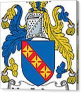 Macfadyen Coat Of Arms II Irish Canvas Print