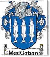 Macgahan Coat Of Arms Irish Canvas Print