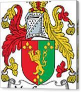 Macgaynor Coat Of Arms Irish Canvas Print