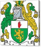 Macgenis Coat Of Arms Irish Canvas Print