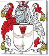 Macgowan Coat Of Arms Irish Canvas Print