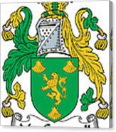 Macgrannell Coat Of Arms Irish Canvas Print