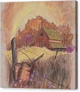 Macgregors Barn Pstl Canvas Print