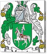 Macguire Coat Of Arms Irish Canvas Print