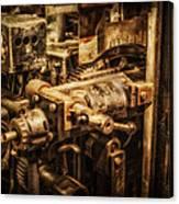 Machine Part Canvas Print