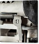 Machine Parts Canvas Print