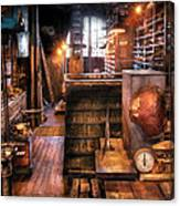 Machinist - Ed's Stock Room Canvas Print