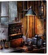 Machinist - My Workstation Canvas Print