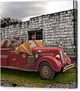 Mack Firetruck Canvas Print