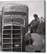 Mack Truck  1943 Canvas Print