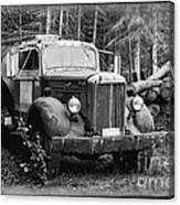Mack Truck Canvas Print