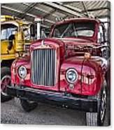 Mack Truck V2 Canvas Print