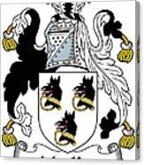 Mackee Coat Of Arms Irish Canvas Print