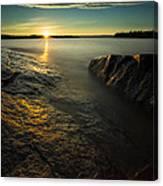 Mackenzie Point September Sunrize Canvas Print