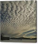 Mackerel Sky Canvas Print