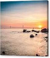 Mackinac Sunrise Canvas Print