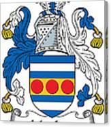 Maclea Coat Of Arms Irish Canvas Print