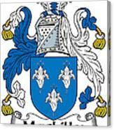 Maclilly Coat Of Arms Irish Canvas Print