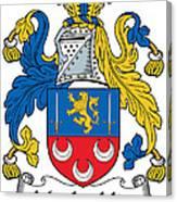 Maclochlin Coat Of Arms Irish Canvas Print