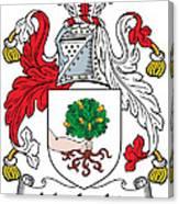 Macloskie Coat Of Arms Irish Canvas Print