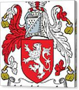 Macmorogh Coat Of Arms Irish Canvas Print