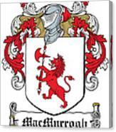 Macmurrogh Coat Of Arms Carlow Ireland Canvas Print