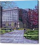 Macpherson Squared Canvas Print