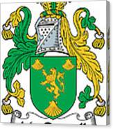 Macrannell Coat Of Arms Canvas Print