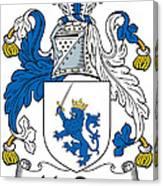Macrery Coat Of Arms Irish Canvas Print