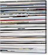 Macro Paper Spot Color Background Canvas Print