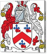 Macrory Coat Of Arms Irish Canvas Print