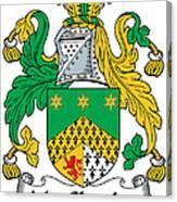 Macshanley Coat Of Arms Irish Canvas Print