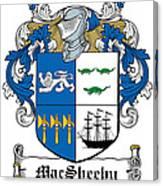 Macsheehy Coat Of Arms Irish Canvas Print