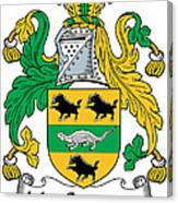 Macsweeney Coat Of Arms Irish Canvas Print