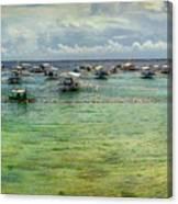 Mactan Island Bay Canvas Print