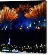 Macy's 2014 Fireworks Canvas Print