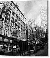 Macys At Broadway And 34th Street Herald Square New York City Canvas Print