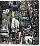 Macy's From Above Canvas Print