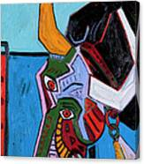 Mad Cow 24x18 Canvas Print