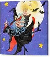 Mad Millie Moon Dance Canvas Print