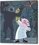 Mad Professor Experiment Canvas Print