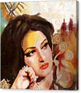 Madam Noor Jehan Canvas Print