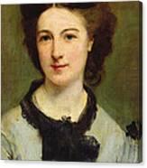 Madame Charles Garnier Canvas Print