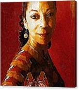 Madame Exotic Canvas Print