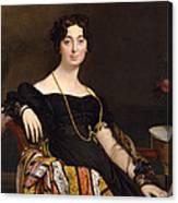 Madame Jacques-louis Leblanc. Francoise Poncelle Canvas Print