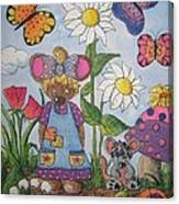 Maddie Mouse Canvas Print