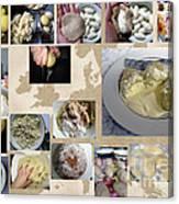 Made In Lithuania... Cepelinai- Potato Dumplings Canvas Print